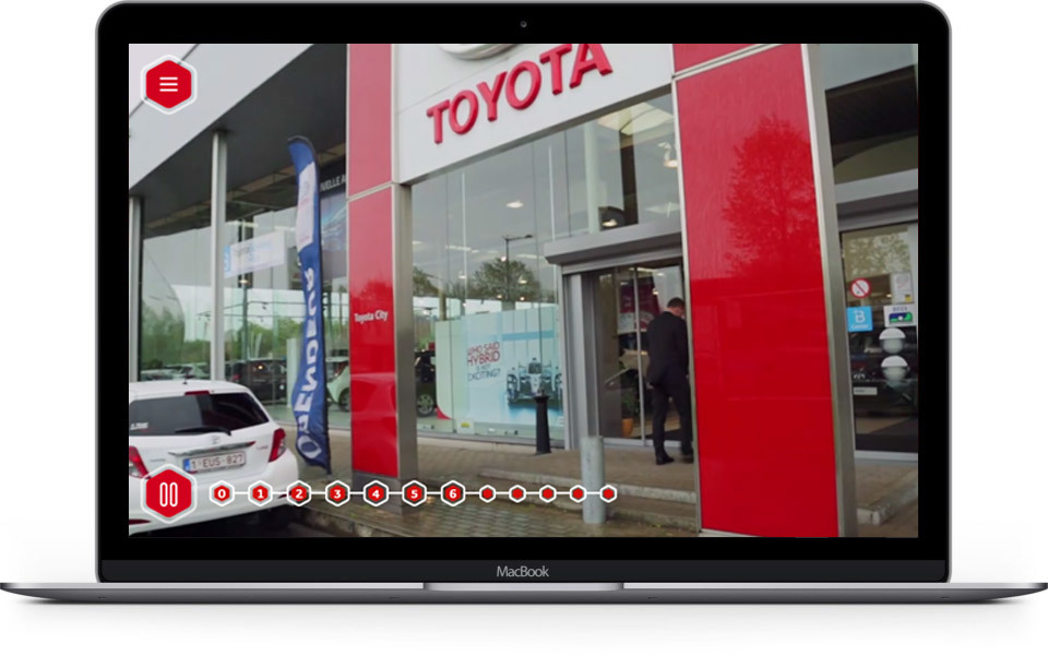 Toyota used interactive video elearning to bring new starters up to speed quickly and consistently