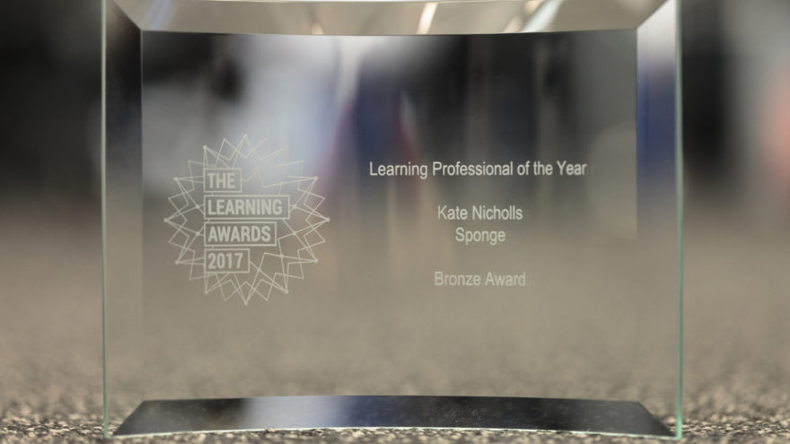 Learning Award Kate