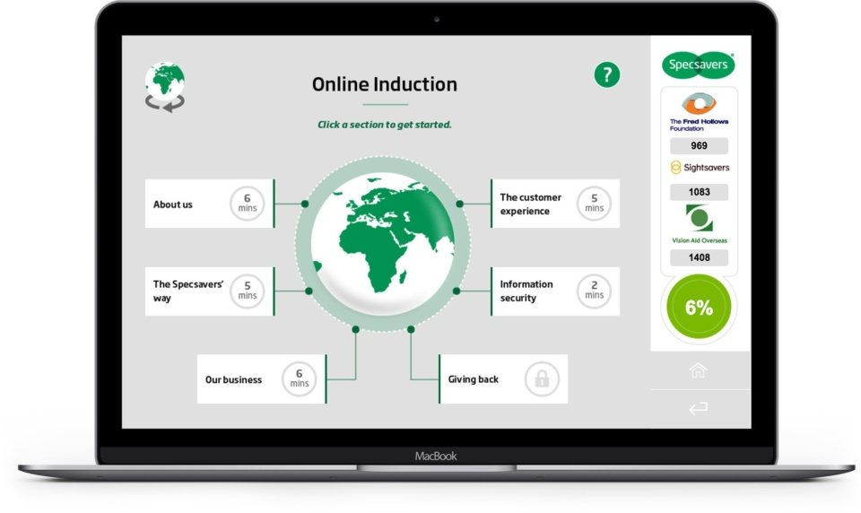 Onboarding global employees with Specsavers