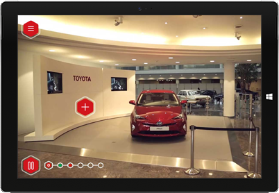 First-person interactive video onboarding with Toyota