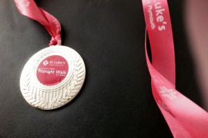 St Luke's Midnight Walkers medal