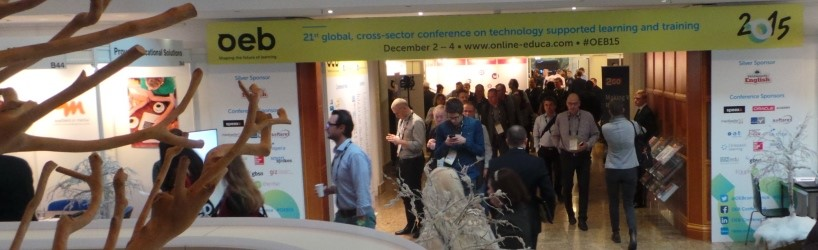The OEB conference entrance