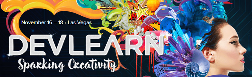 DevLearn is the next big event on the learning and development calendar