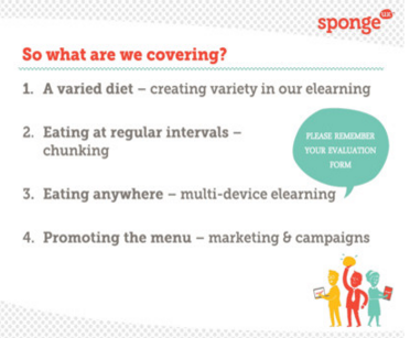 Your employees can benefit from a healthy elearning diet
