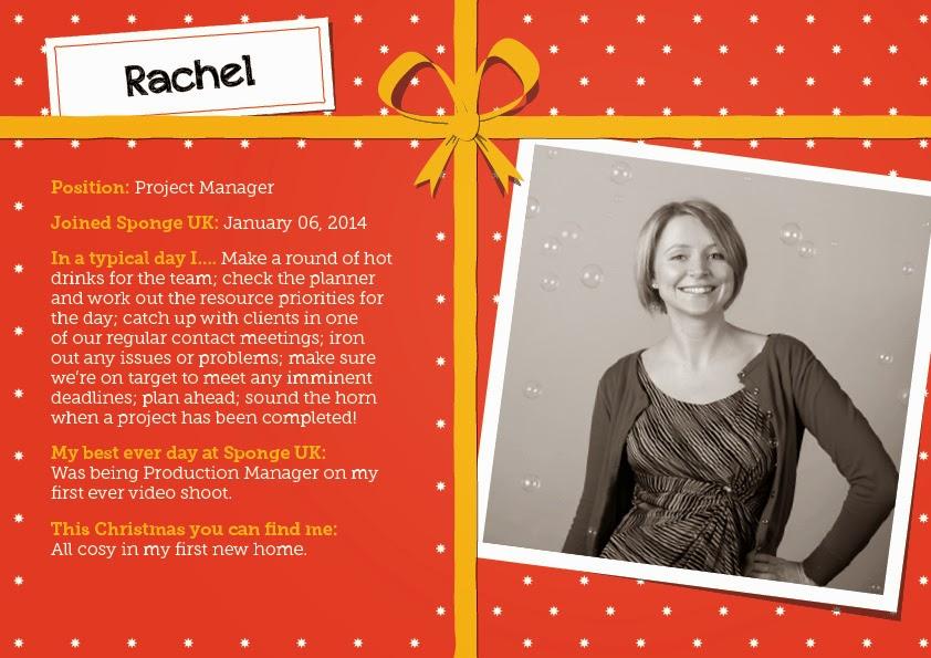 Twelve Faces of Christmas - rachel