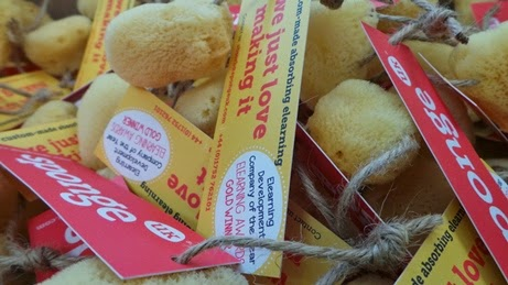 Award-winning elearning provider Sponge give out sustainably sourced sponges at Learning tech