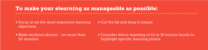 Tips on manageability