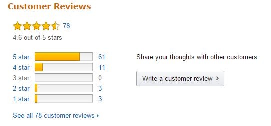 Allowing learners to review your content like Amazon does is a good way to get their feedback